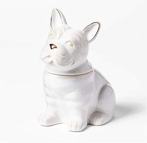 Cravings by Chrissy Teigen French Bulldog Cookie Jar - White
