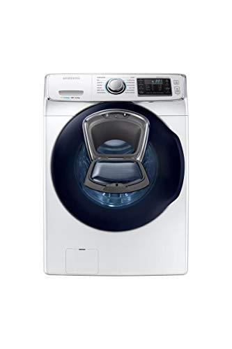 Lave linge hublot 16 Kg Samsung WF16J6500EWEF - Lave linge Frontal - Essorage 1200 tr/min - Départ différé - Affichage temps restant - 74 dB - Pose libre - Classe énergétique A++