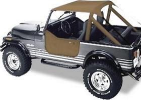 Bestop Bikini Top for 1976 - 1986 Jeep Wrangler