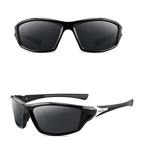 MENS SPORTS SUNGLASSES POLARIZED DRIVING OUTDOOR DRIVING FISHING CYCLING RUNNING ANTI-GLARE UV400 PROTECTION SQUARE POLARISED SUNGLASSES FOR WOMEN…
