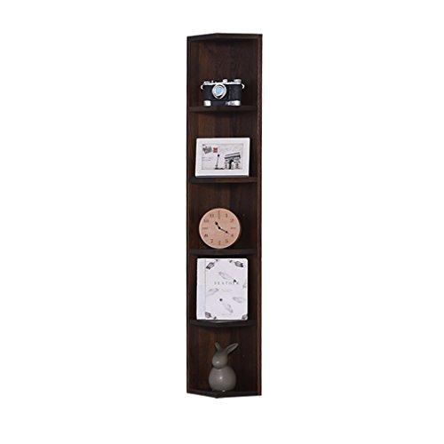 HQQ Repisa de Pared Rectangular de Roble de Madera sólida repisa de estantería repisa Moderna Sala de Estar Minimalista (Color : #1) ✅