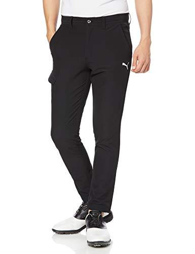 [プーマ] ロングパンツ ゴルフ スリム テーパード パンツ メンズ プーマ ブラック 日本 XL (日本サイズXL相当)