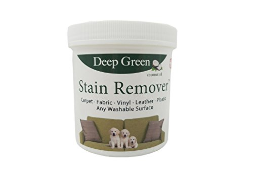 Deep Green All Purpose Stain Removal Formula - Best Carpet Cleaner - Non-Toxic, Odorless Pet Spot Remover (16oz Tub Makes up to 10 Quarts)