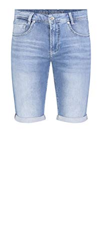 MAC Jeans Herren Jog'N Bermuda Shorts, Blau (Light Authentic Sky Blue H230), W36(Herstellergröße: 36/10)