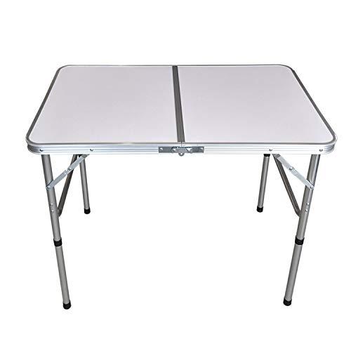 Aluminium Klapptisch 'Bergen' Campingtisch 90x60cm Gartentisch Beistelltisch Falttisch Picknicktisch Alutisch faltbar