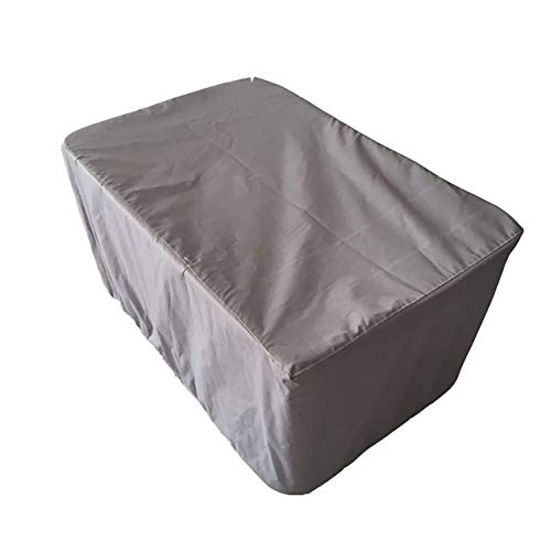 Huolirong Funda Protectora para Muebles Tela De Oxford Impermeable Funda De Protección For Mesa Rectangular Muebles De Jardín Funda (Color : Gray, Size : 170×94×70cm)