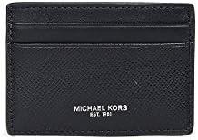 Michael Kors Men s Harrison Card Case Black One Size product image