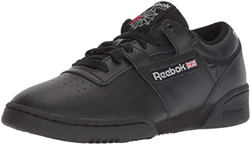 Reebok Men's Workout Low Cross Trainer, int-Black/Light Grey, 10 M US