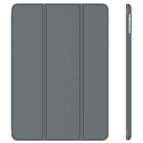 JETech Case for iPad Air 1st Edition (NOT for iPad Air 2), Smart Cover with Auto Wake/Sleep, Dark Grey