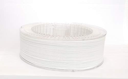 Print with Smile 3D Drucker PLA Filament   1,75 mm für 3D Printer und 3D Stift   hochwertig Filament für 3D-Drucker und 3D-Pen 3000 g (Satine White)