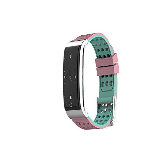 VLERHH Kleur Scherm Slimme Armband ECG Hartslag Bloeddruk Monitoring Beweging Stap Waterdichte Fitness Tracker Activiteit Slimme Armband Sport Horloge Met Stappenteller