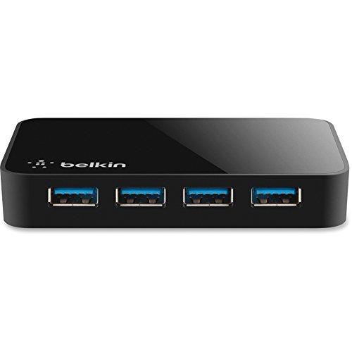 Belkin F4U058TT SuperSpeed USB 3.0 4-Port Hub Black