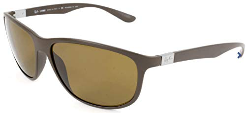 Ray-Ban Sonnenbrille Mod. 4213 Gafas de sol, Marrón (Braun), 61.0 Unisex Adulto