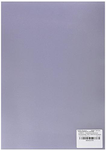 r & b Laminiersysteme UMT020M - Deckblätter Klarsichtfolien, PVC, 0.20 mm stark, DIN A4, 100 Stück, transparent-matt