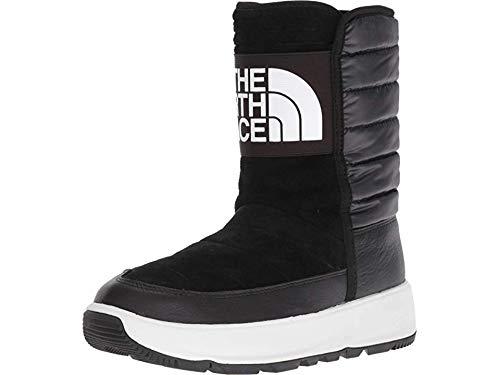 The North Face Women's Ozone Park Winter Pull-On Boot, TNF Black/TNF White, 6 M