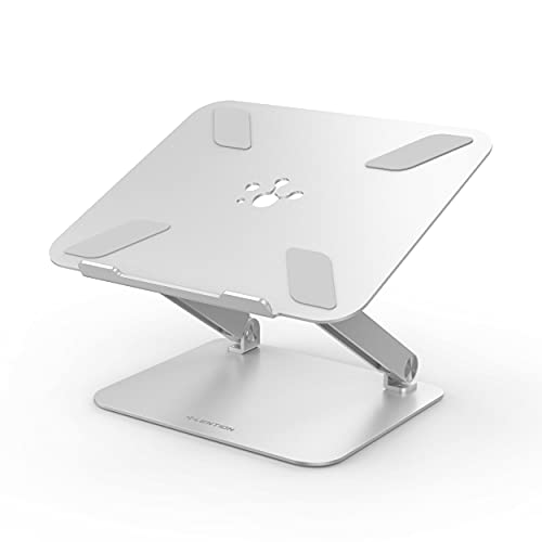 Soporte para Ordenador portátil Ajustable de aleación de Aluminio portátil Plegable para Ordenador portátil MacBook Soporte de elevación Soporte de refrigeración Antideslizante
