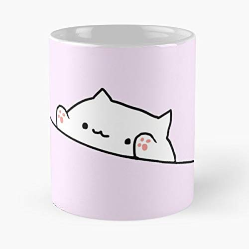 92Wear Bongo Cat Bongos Kitty Kitties Cats Cute Meme Memes Dank - Best 11 oz Taza De Café - Taza De Motivos De Café