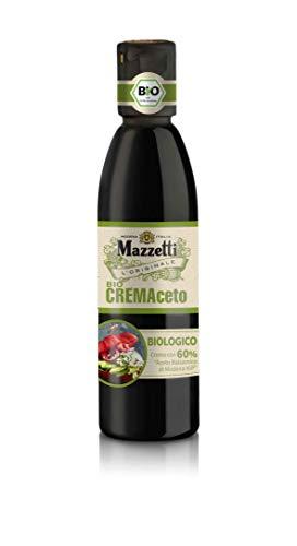 Mazzetti BIO-CREMAceto,60% BIO Aceto Balsamico di Modena 250ML, 250 ml