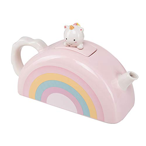 Smoko Elodie Teekanne Einhorn Rainbow