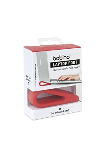 Bobino LATOFRD - Pie para ordenador portátil, color rojo