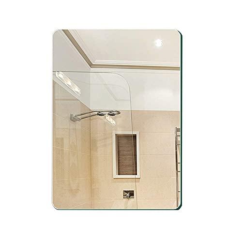 LIXHZJ Espejos, baño de baño montado en la pared del inodoro montado en la pared maquillaje (sin marco), a,70 90 Código de producto: WW-49 (color: A, tamaño: 6080)