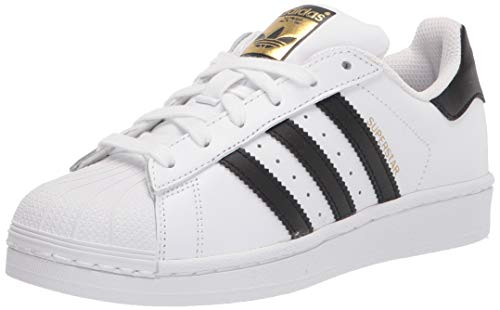 adidas Superstar, Scarpe da Ginnastica Unisex Adulto, Bianco (Ftwr White/Core Black/Ftwr White), 42 2/3 EU