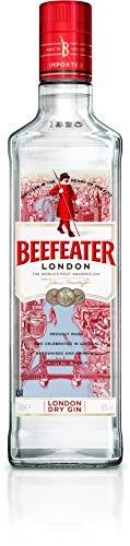 Beefeater London Dry Gin – Edler und hochwertiger Premium-Wacholderschnaps – Nach London Dry Gin-Art hergestellt – 1 x 0,7 l