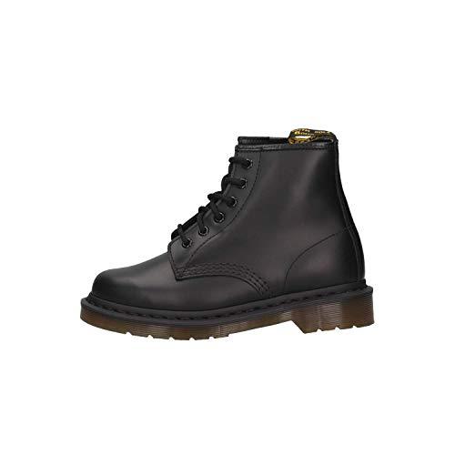 Dr. Martens 101 Smooth 6 Eye Boot , Stivaletti Unisex Adulto, Nero, 41