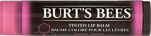 Burt's Bees 100% Natürlich, Tinted Lippenbalsam, Sweet Violet, 1er Pack (1 x 4,25 g)