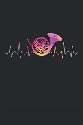 Terminplaner 2021: Terminkalender für 2021 mit Heartbeat French Horn Cover | Wochenplaner | elegantes Softcover | A5 | To Do Liste | Platz für Notizen | für Familie, Beruf, Studium und Schule
