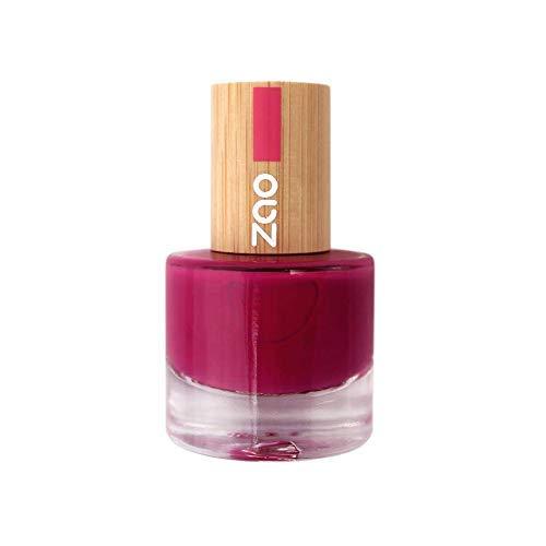 Zao - Smalto per unghie di bambù - No. 663 / Lampone - 8 ml