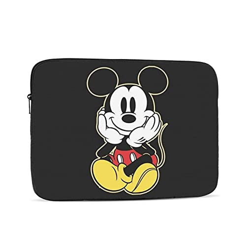 Mickey Mouse Laptop Sleeve Light Notebook Computer Tablet Carrying Bag Cover, Notebook Carrying Case Cover Bags for 10-17 Inch Ipad Mac Pro, Mac Air,Computer Bag