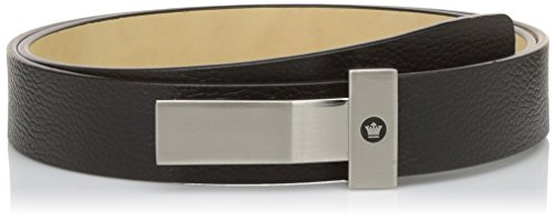 Louis Philippe Men's Belt (LPLL200051_Black_L)