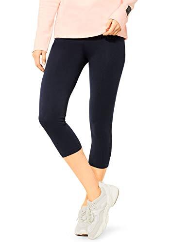 Cecil Damen 373073 Leggings 54cm Leg Length Hose, deep Blue, L