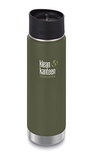 Klean Kanteen 20oz Wide Insulated Bottle with Loop Cap - Green