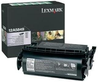 Lexmark High Yield Return Program Toner Cartridge for Label Applications, 25000 Yield (12A5849)