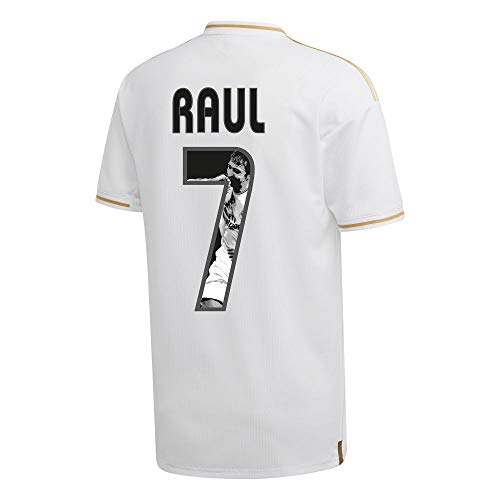 adidas Real Madrid Home Raul 7 Trikot 2019-2020 (Gallery Style) - XXXL