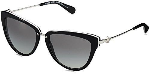 Michael Kors 6039 312911 Black / White Abela Ll Cats Eyes Sunglasses Lens Categ