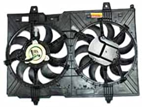 TYC 621880 Nissan Rogue Replacement Radiator/Condenser Cooling Fan Assembly