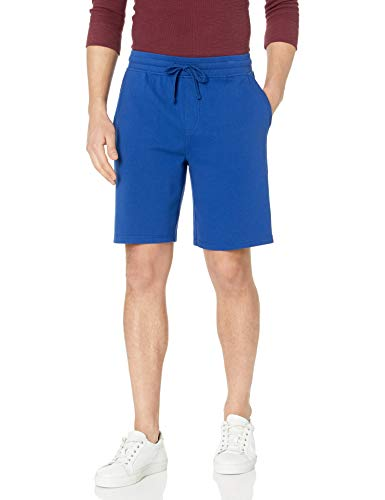 "Amazon Brand - Goodthreads Men's 9"" Lightweight French Terry Short, Bright Blue, Medium"