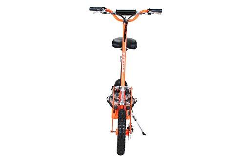 E-Scooter Roller Original E-Flux Vision mit 1000 Watt 36 V Motor Elektroroller E-Roller E-Scooter in vielen Farben (Orange) - 6