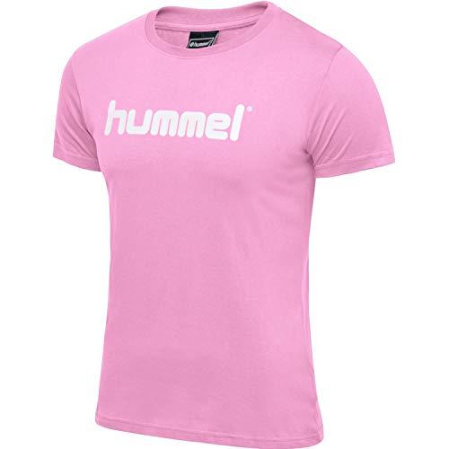 HUMMEL GO Logo T-Shirt Woman S/S, COTTON CANDY, M