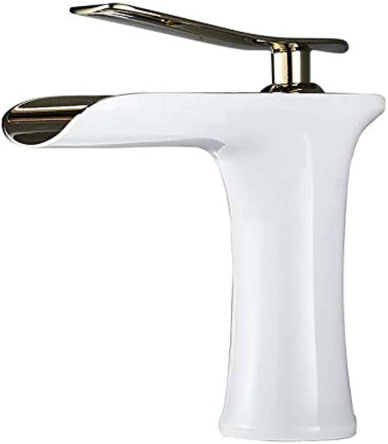 Bathroom Faucet Copper Basin Faucet Hot and Cold Wash Basin Heightening Above Counter Basin Faucet Nordic