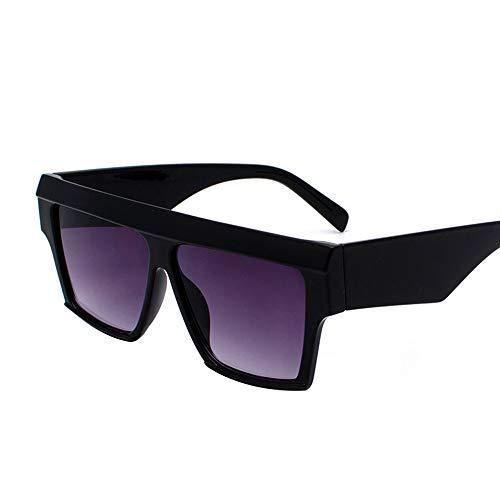 Faus Koco Personality Box Sonnenbrillen Europa Und Amerika Strand Sonnenbrillen Retro Round Face Brillen (Color : Purple)