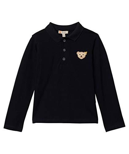 Steiff Boys Poloshirt Longsleeve Polo Shirt, Marine, 80