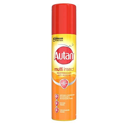 Autan Multi Insect Spray, Multi-Insektenschutz vor Mücken, Stechfliegen und Zecken, 1er Pack (1 x 100 ml)