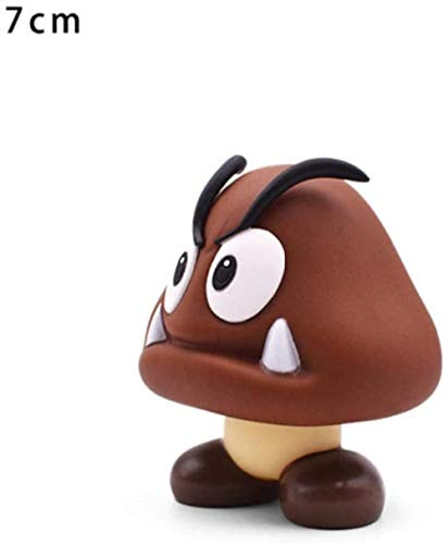 VENDISART Anime Action Figures Super Mario Action Figures Toys Goomba PVC Action Figure Model Dolls Toys Gift