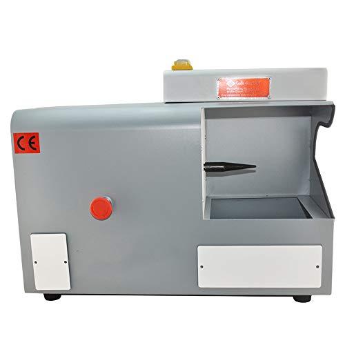QWERTOUR Bench Polijstmachine voor sieraden, polijstmachine met stofcollector, 3450 rpm voor het slijpen