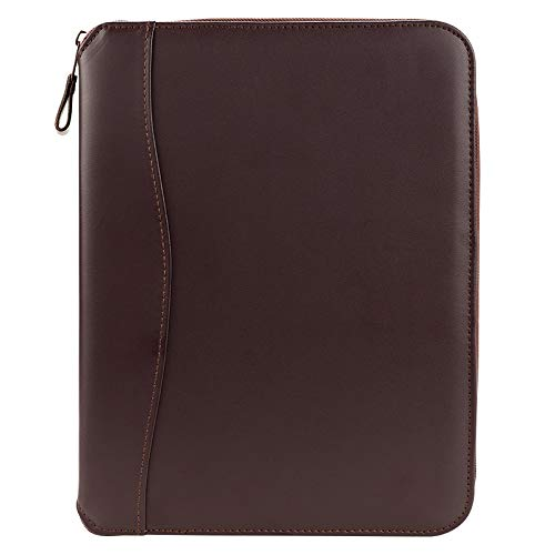 FranklinCovey Classic FC Basics Spacemaker Vinyl Zipper Binder - Burgundy