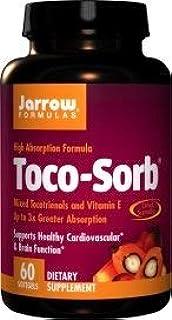 Jarrow Formulas - Toco-Sorb 60 softgels (Pack of 2)
